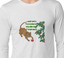 "Holiday ""ball game"" shirt Long Sleeve T-Shirt"