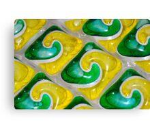 Dishwasher Tabs Canvas Print