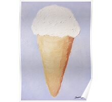 Ice Cream Cone - Second Oil Painting Poster