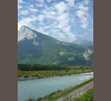 a stunning Liechtenstein landscape Unisex T-Shirt