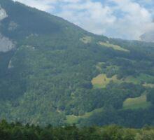 a stunning Liechtenstein landscape Sticker