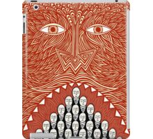 More food for devilish thought iPad Case/Skin