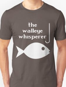 Walleye whisperer fishing geek funny nerd T-Shirt