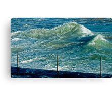 maré....tide Canvas Print