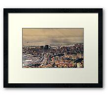 Genoa Port Framed Print
