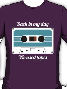 Retro Cassette Tape -  T-Shirt