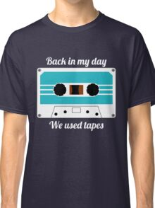 Retro Cassette Tape -  Classic T-Shirt