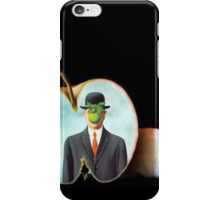 The Apple/René Magritte iPhone Case/Skin