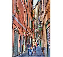 alleys of Genoa Photographic Print