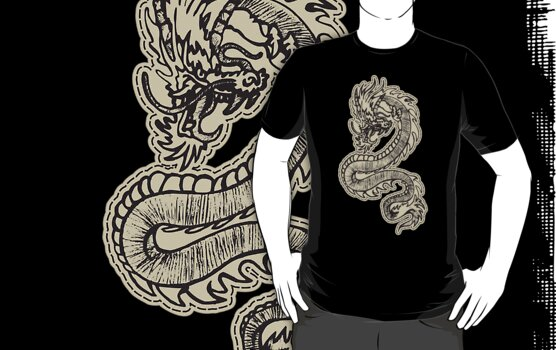 Dragon Chinese Dragon T-Shirt by T-ShirtsGifts