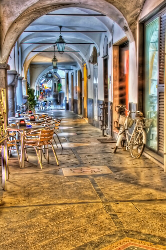 porticoes in Chiavari by oreundici