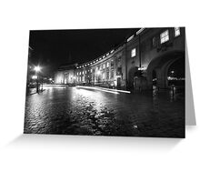 Le Mans Crescent, Bolton Greeting Card