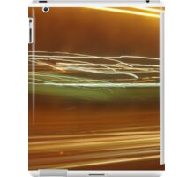 Bleary eyed to Work iPad Case/Skin