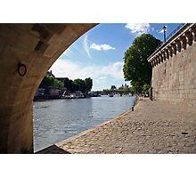 Ile de la Cité Photographic Print