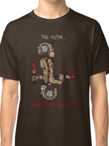 professor wimbly: the victim... or the murderer? (flip edition) Classic T-Shirt