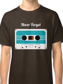 Retro Cassette Tape -  Classic T-Shirt