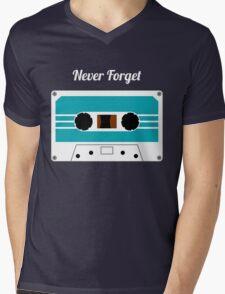 Retro Cassette Tape -  Mens V-Neck T-Shirt