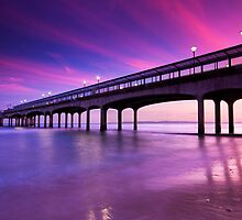 Boscombe Pier Sunset by EwanHitchcoe