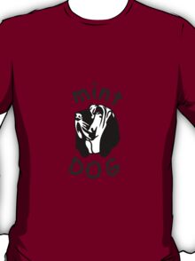 Mint Dog Bloodhound T-Shirt