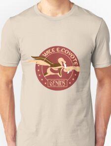 Wile e coyote genius geek funny nerd T-Shirt