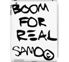 Boom For Real SAMO BLK iPad Case/Skin