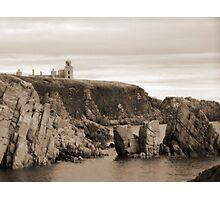 Slains Castle Photographic Print
