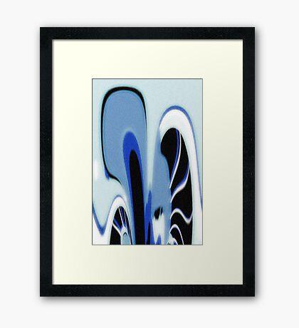 Porcelain Framed Print