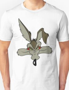 Wile e coyote pleased head shot geek funny nerd T-Shirt