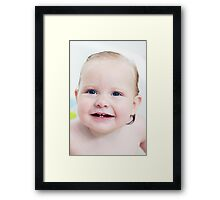 Precious girl Framed Print