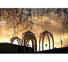 Arches Aglow Photographic Print