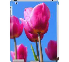 Vibrant Crimson Tulips iPad Case/Skin