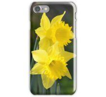 Daffodil Couple iPhone Case/Skin