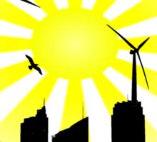 Windmill City 2 Sticker
