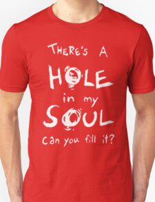 Bastille - Flaws - There's A Hole In My Soul, Can You Fill It? [x1] T-Shirt