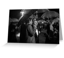 Is that rain or CGI? Greeting Card