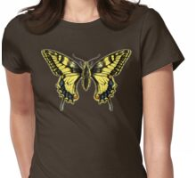 Swallowtail for dark shirts Womens Fitted T-Shirt