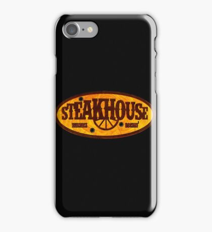 Steakhouse redneck rockin' band 1 iPhone Case/Skin