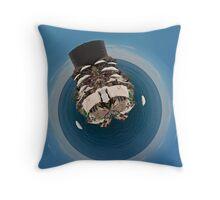 Dubrovnik, Croatia Spherical Panorama Throw Pillow