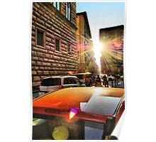 Sun splashes Poster