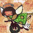 Peace & Joy Angel by lynzart