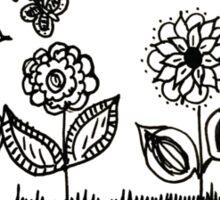 It's a Flower Garden Sticker