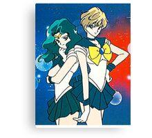 Neptune and Uranus Canvas Print