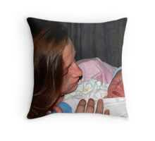 Baby Boy Whitehead Throw Pillow