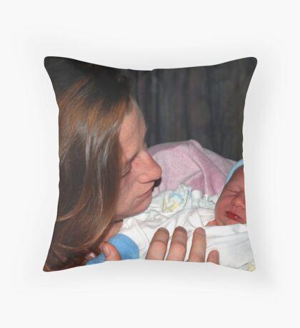 Baby Boy Whitehead Throw Pillow