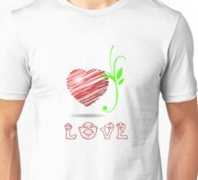 IN LOVE Designer Tees and Stickers. Unisex T-Shirt