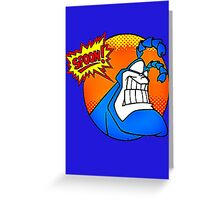 the tick- spoon Greeting Card
