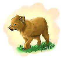Wolfie by javaleen