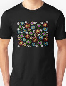 Crazy Flowers Unisex T-Shirt