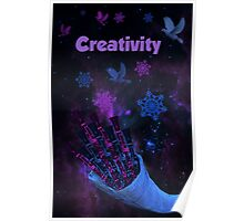 What is Digital Art - Creativity Poster