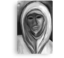White Watcher Canvas Print